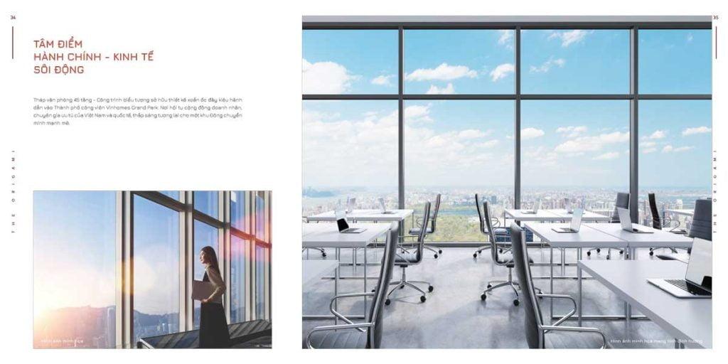 Tháp văn phòng 45 tầng – Tâm điểm hành chính, kinh tế sôi động