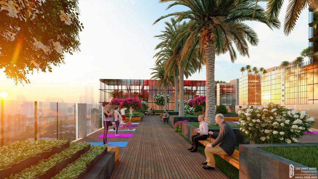 Thể thao tầng mái dự án căn hộ Sunshine Diamond River Quận 7 đường Đào Trí