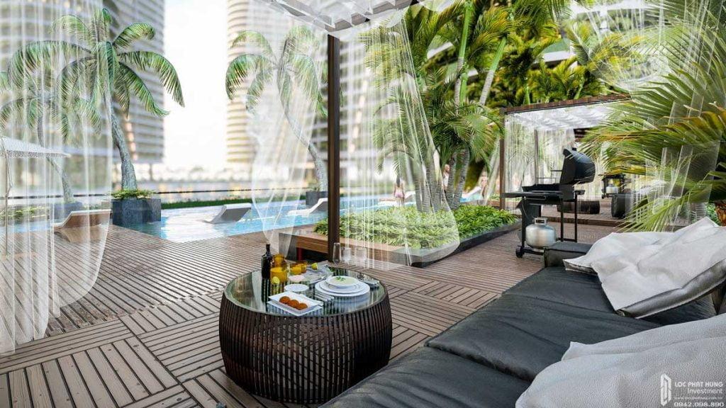 Tựa resort tại dự án căn hộ Sunshine Diamond River Quận 7 đường Đào Trí