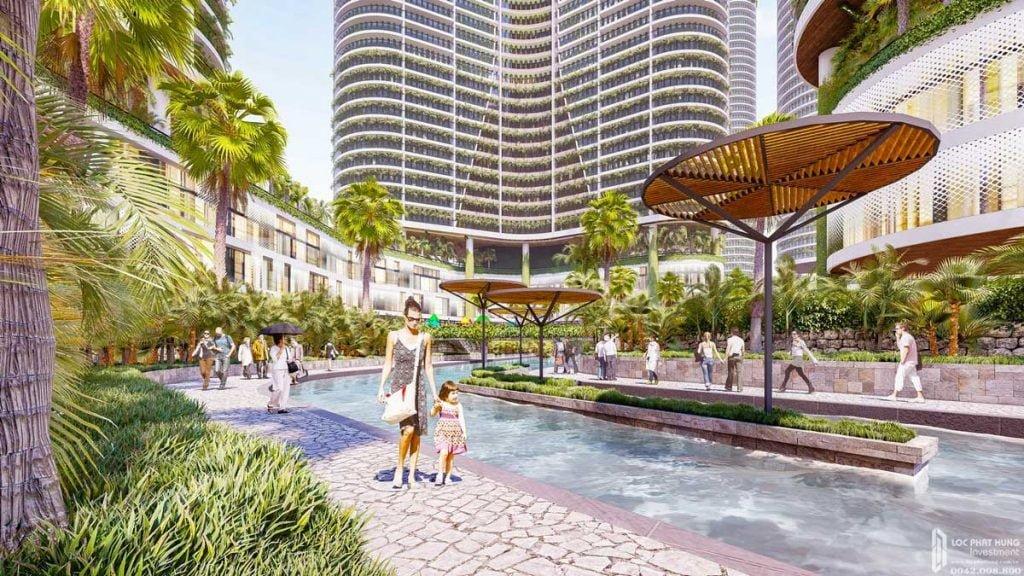 Dạo bộ thư giãn cùng dự án căn hộ Sunshine Diamond River Quận 7 đường Đào Trí