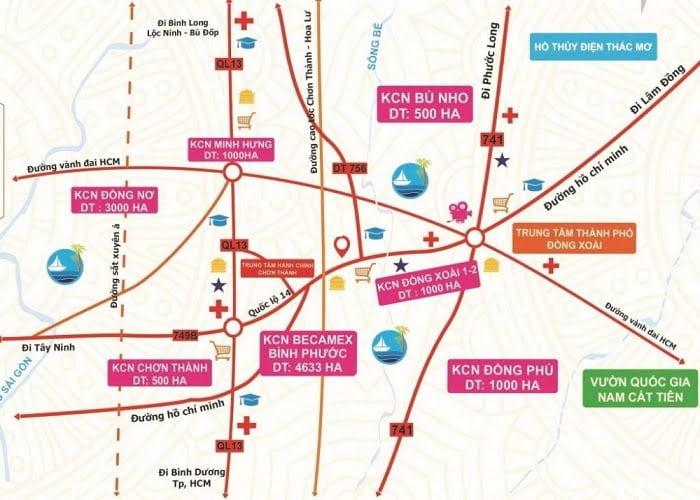 Cao tốc TP HCM - Thủ Dầu Một - Chơn Thành phù hợp với quy hoạch đường Hồ Chí Minh