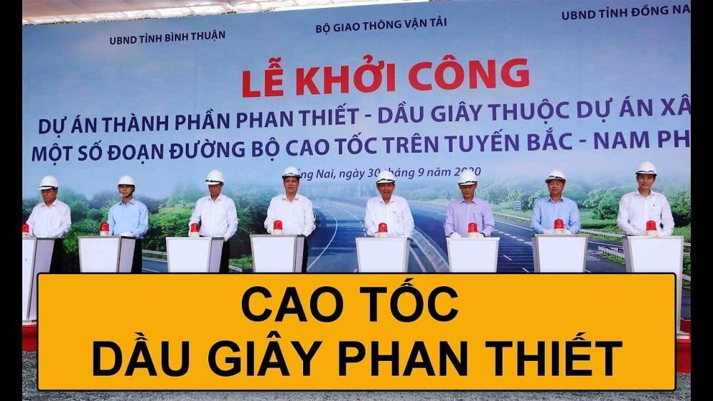 Lễ khởi công Cao tốc Dầu Giây - Phan Thiết