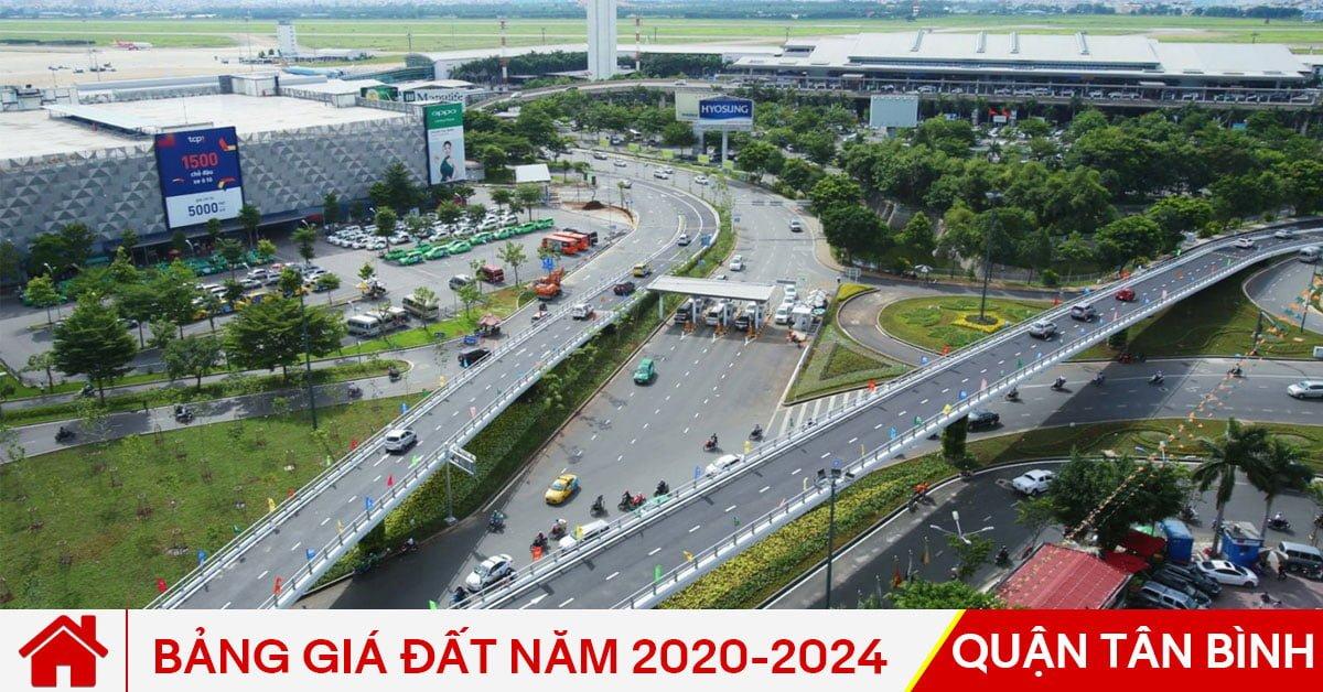 Bảng giá đất Quận Tân Bình năm 2020-2024