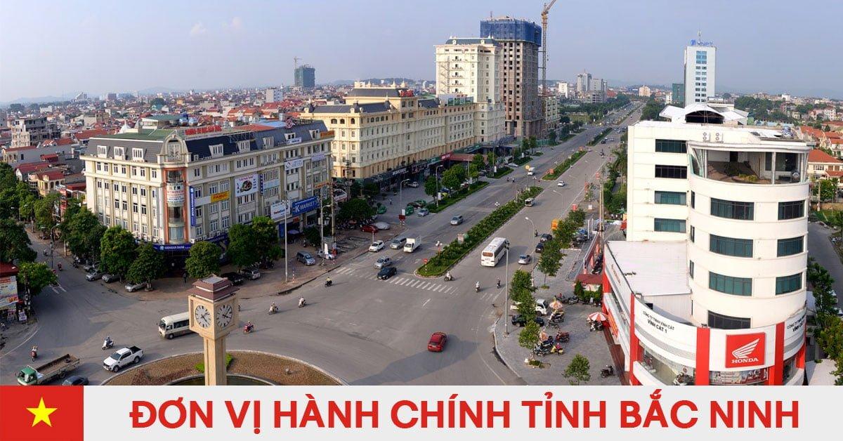 Danh sách đơn vị hành chính trực thuộc tỉnh Bắc Ninh
