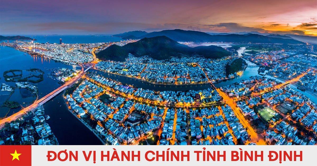 Danh sách đơn vị hành chính trực thuộc tỉnh Bình Định