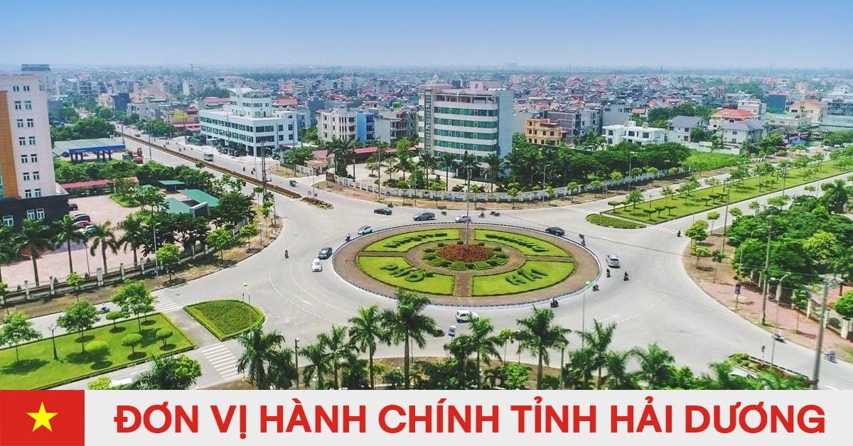 Danh sách đơn vị hành chính trực thuộc tỉnh Hải Dương