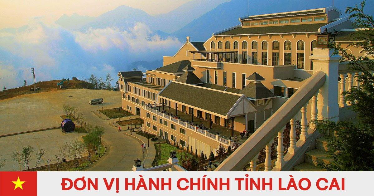 Danh sách đơn vị hành chính trực thuộc tỉnh Lào Cai