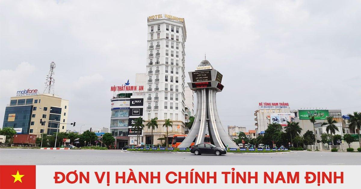 Danh sách đơn vị hành chính trực thuộc tỉnh Nam Định