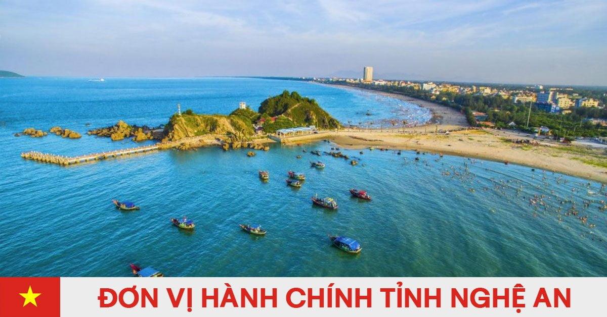Danh sách đơn vị hành chính trực thuộc tỉnh Nghệ An