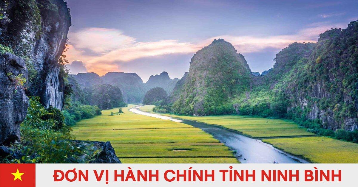Danh sách đơn vị hành chính trực thuộc tỉnh Ninh Bình