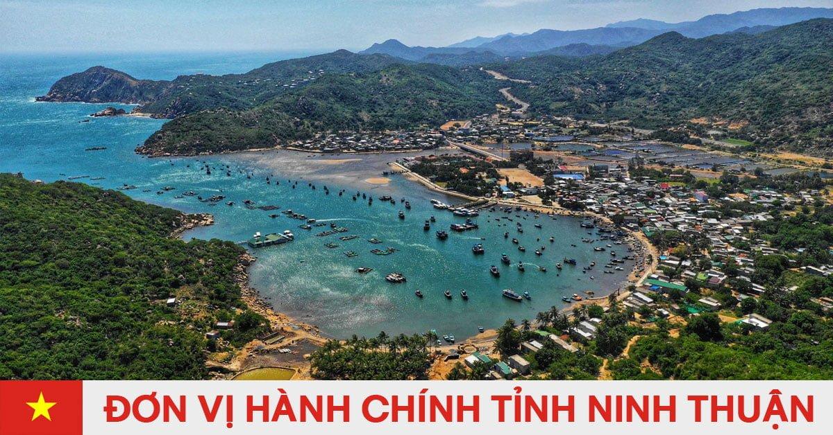 Danh sách đơn vị hành chính trực thuộc tỉnh Ninh Thuận