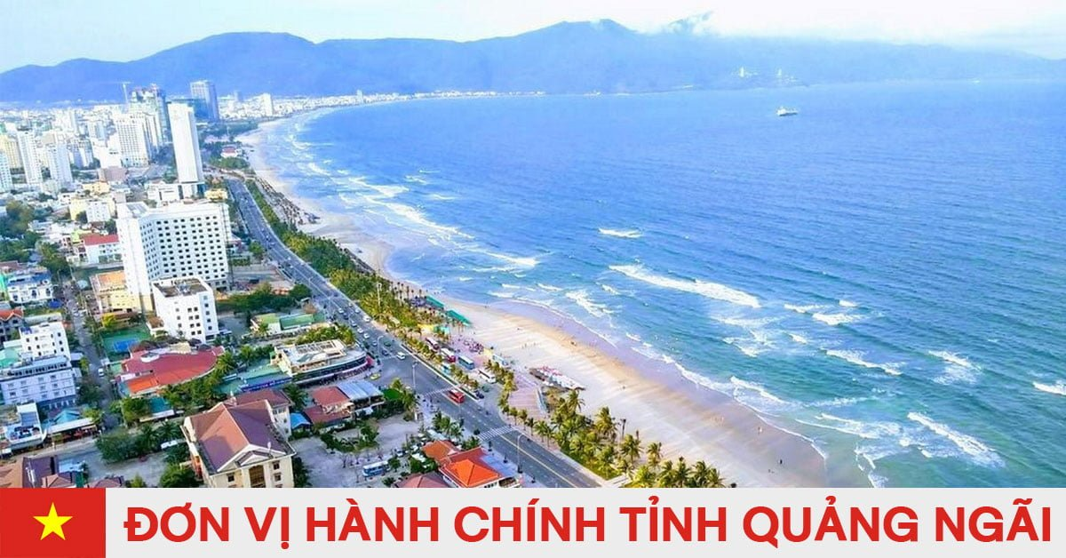 Danh sách đơn vị hành chính trực thuộc tỉnh Quảng Ngãi