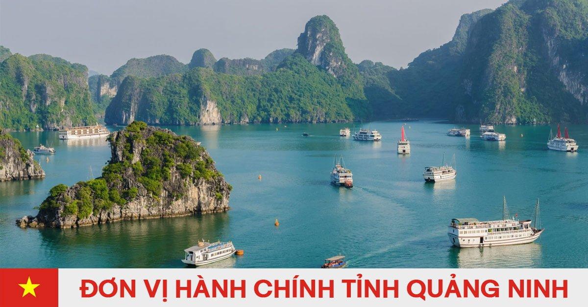 Danh sách đơn vị hành chính trực thuộc tỉnh Quảng Ninh