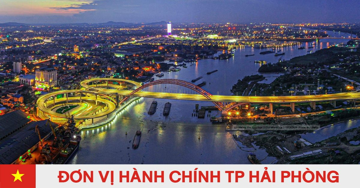Danh sách đơn vị hành chính trực thuộc thành phố Hải Phòng