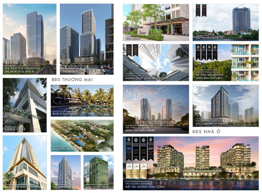 Các dự án mà SonKim Land đã tham gia