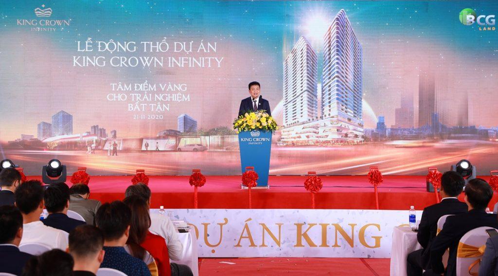 Lễ động thổ dự án King Crown Infinity ngày 21/11/2020
