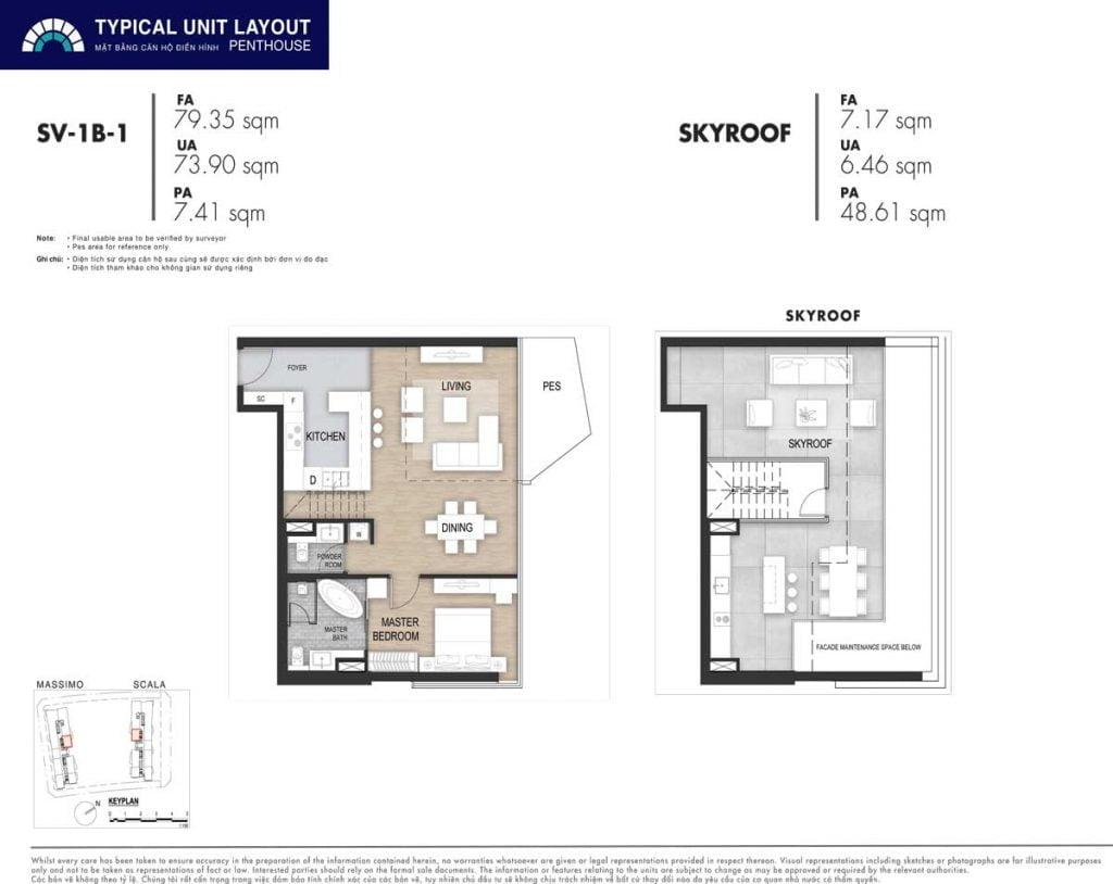 Penthouse SV-1B-1