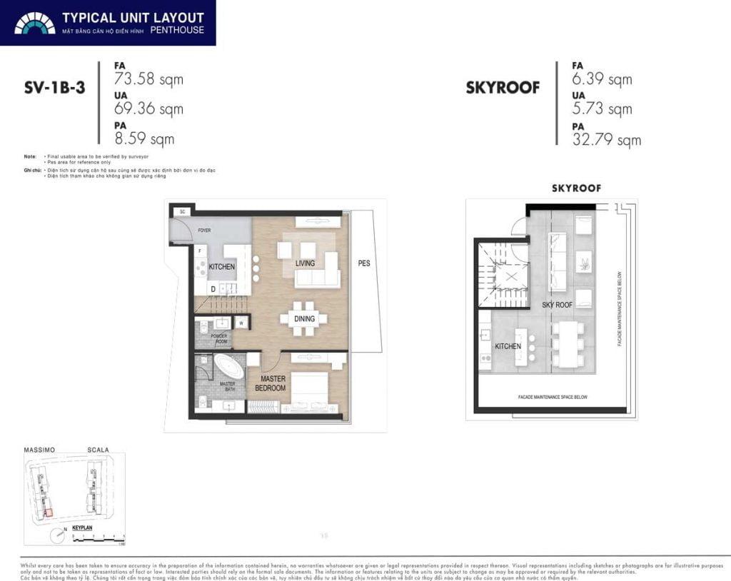 Penthouse SV-1B-3