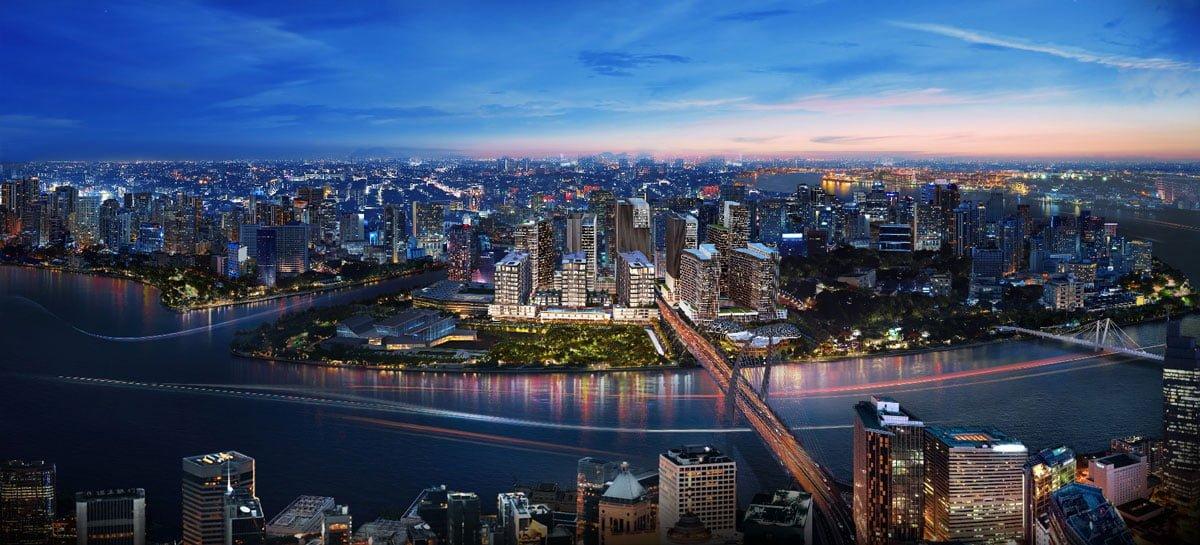 Phối cảnh toàn bộ dự án The Metropole Thủ Thiêm