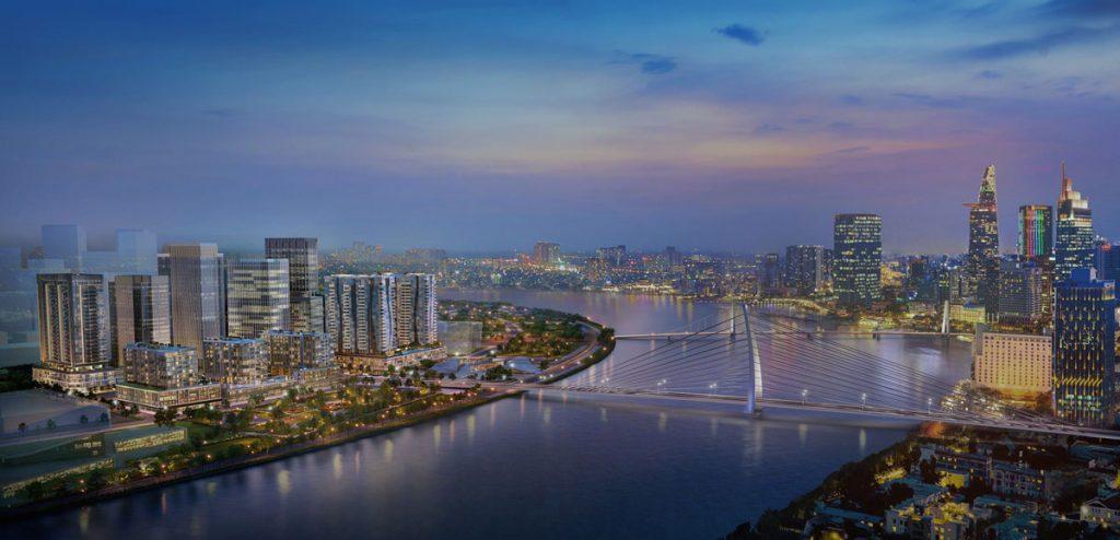 Phối cảnh dự án the Metropole Quận 2