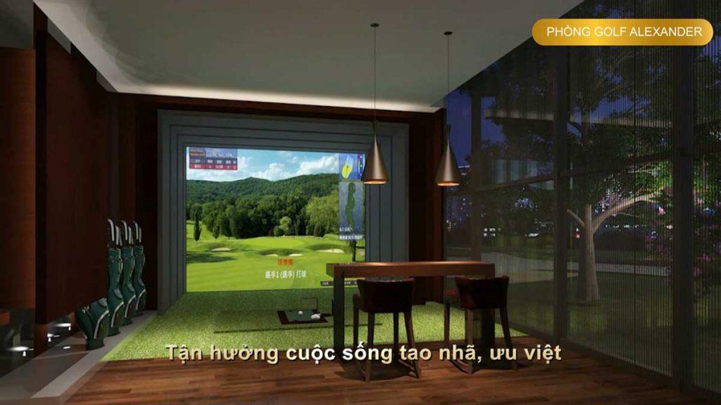 Phòng golf giả lập Alexander
