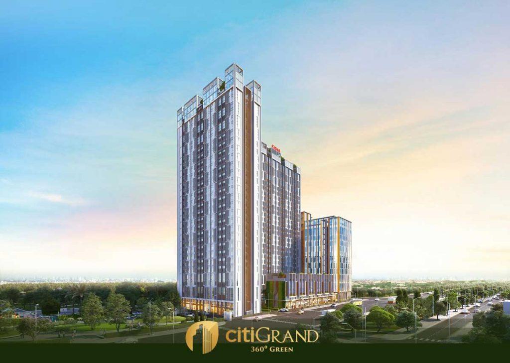 Phối cảnh dự án CitiGrand Quận 2