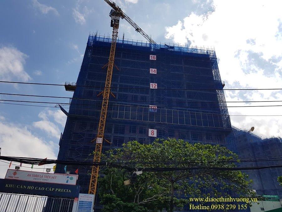 Tiến độ xây dựng căn hộ Precia cuối tháng 2/2021