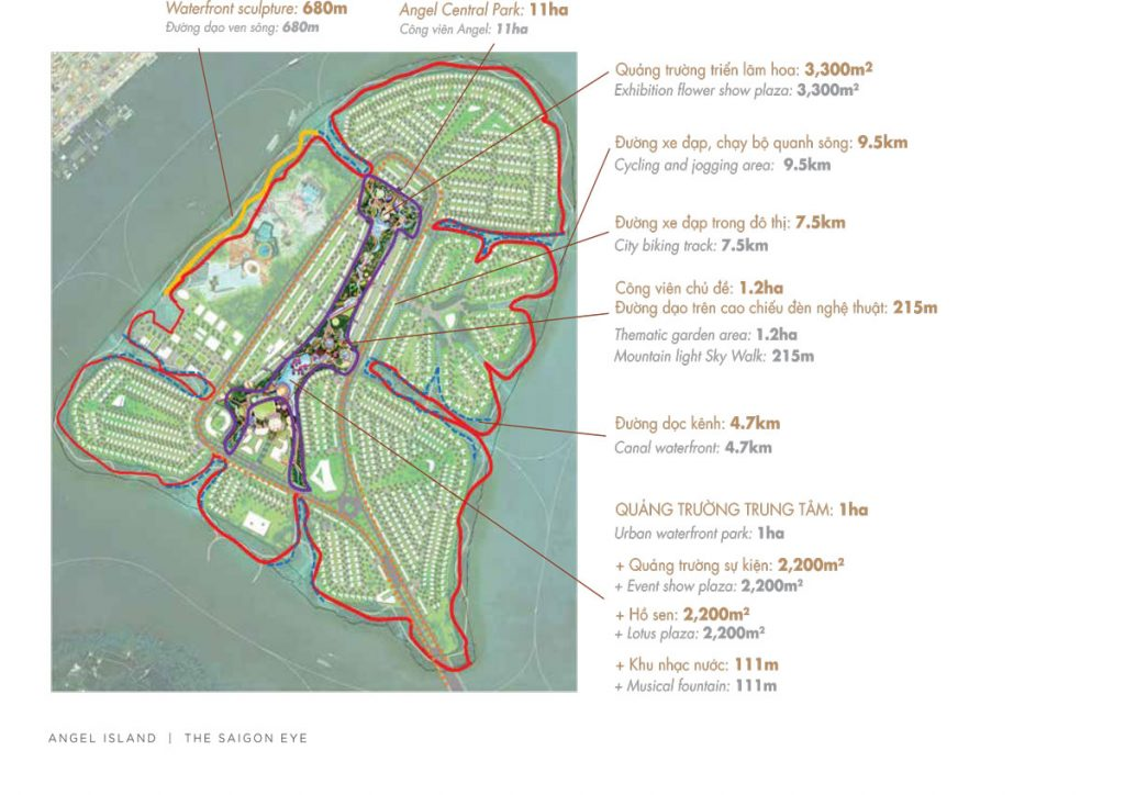 Các tiện ích nổi bật tại Angel Island