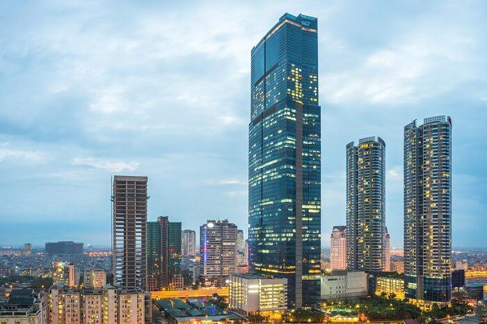 Keangnam Hanoi Landmark Tower cao thứ 2 nước ta với 922 căn hộ cao cấp