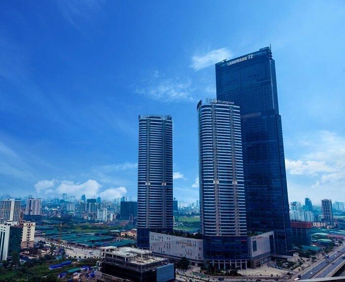Keangnam Hanoi Residential Tower A và B cao 48 tầng