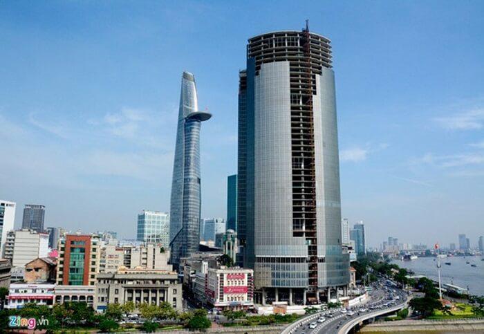 Saigon One Tower cao 195.3m
