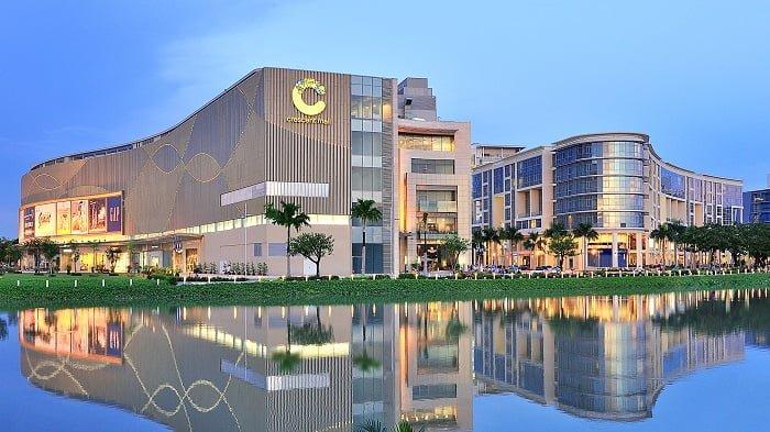 Trung tâm mua sắm Crescent Mall trong Khu The Crescent