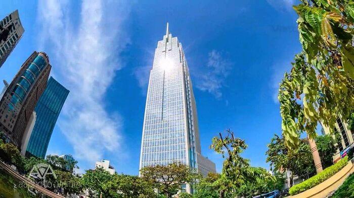 Vietcombank Tower cao 206m với 35 tầng