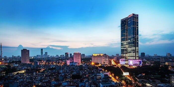 Lotte Center Hà Nội cao 65 tầng nổi và 5 tầng hầm