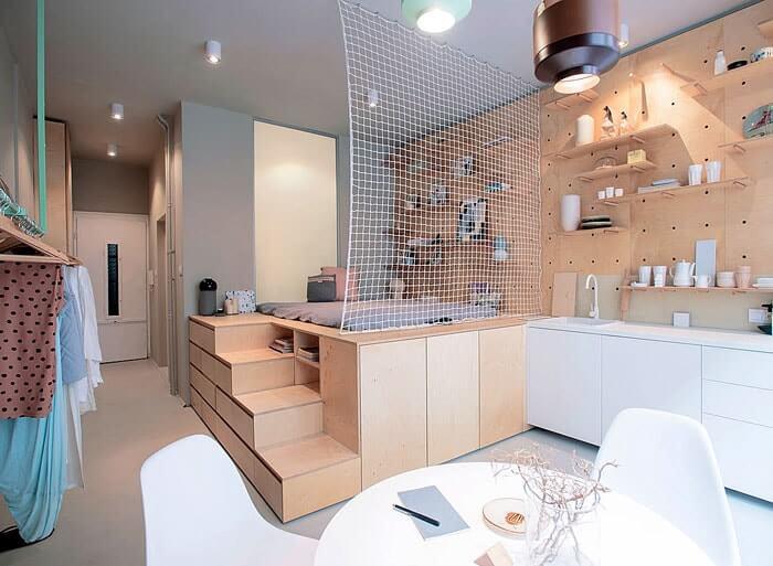 Trang trí nhà chung cư vô cùng độc đáo