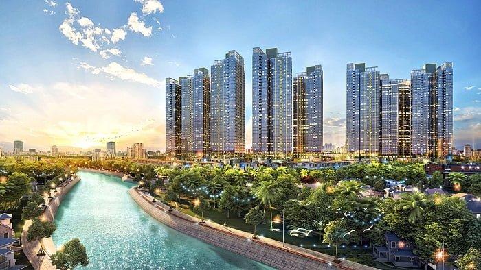 Phối cảnh Sunshine City Sài Gòn Quận 7