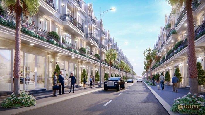 Dự án nhà phố mặt tiền Nguyển Xiển Quận 9