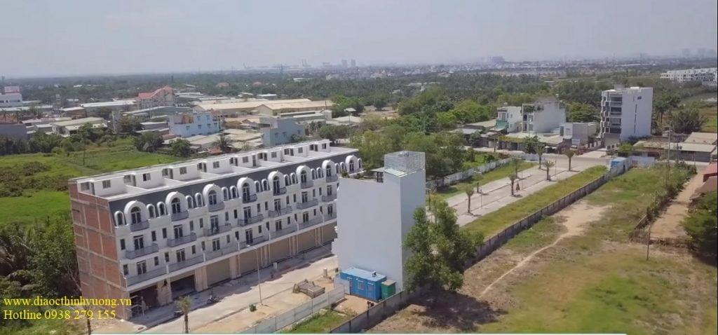 Nhà phố 52 Nguyễn Xiển gần các khu đô thị lớn và dân cư xung quanh đã hiện hữu