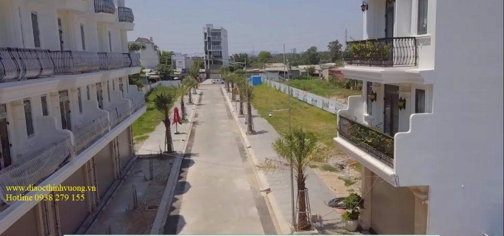Tiến độ xây dựng nhà phố 52 Nguyễn Xiển