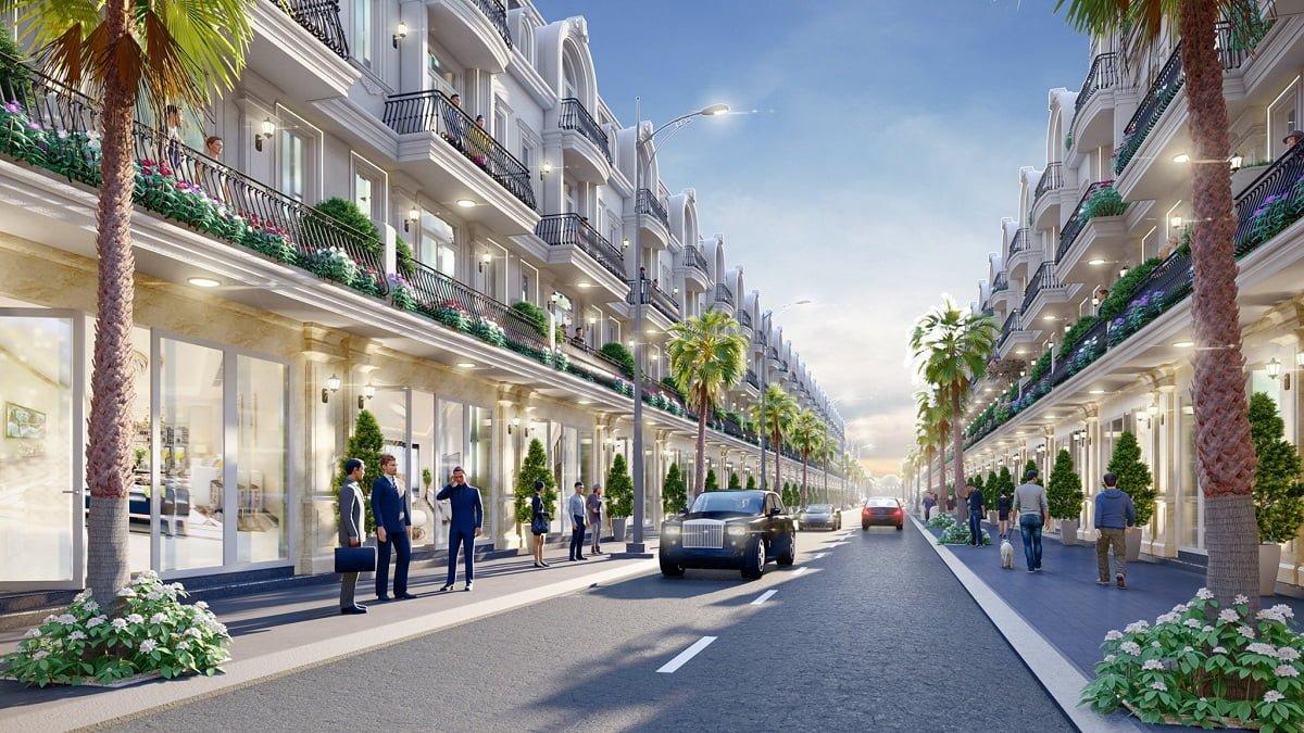 Phối cảnh nhà phố 52 Nguyễn Xiển