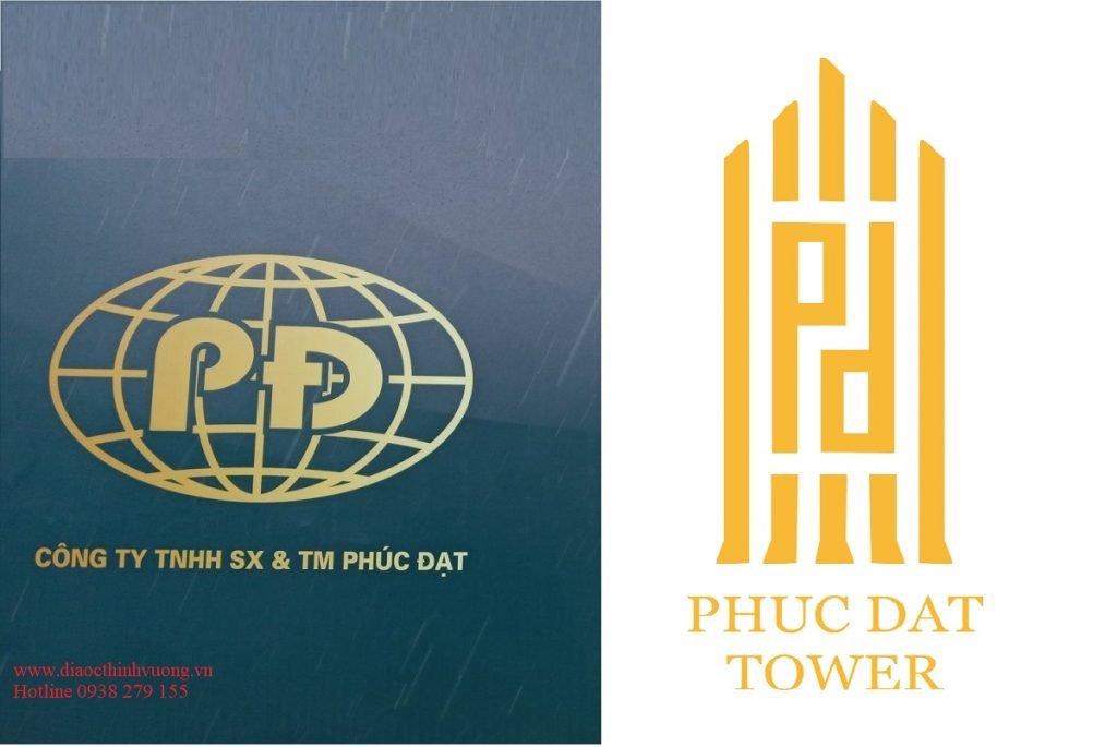 Logo của Phúc Đạt và dự án Phúc Đạt Tower