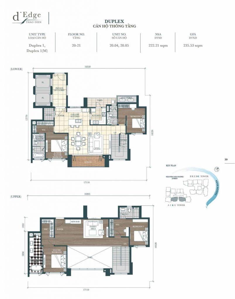 Căn hộ Duplex mẫu 1