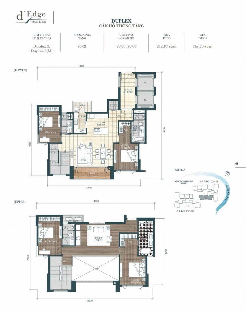 Căn hộ Duplex mẫu 3