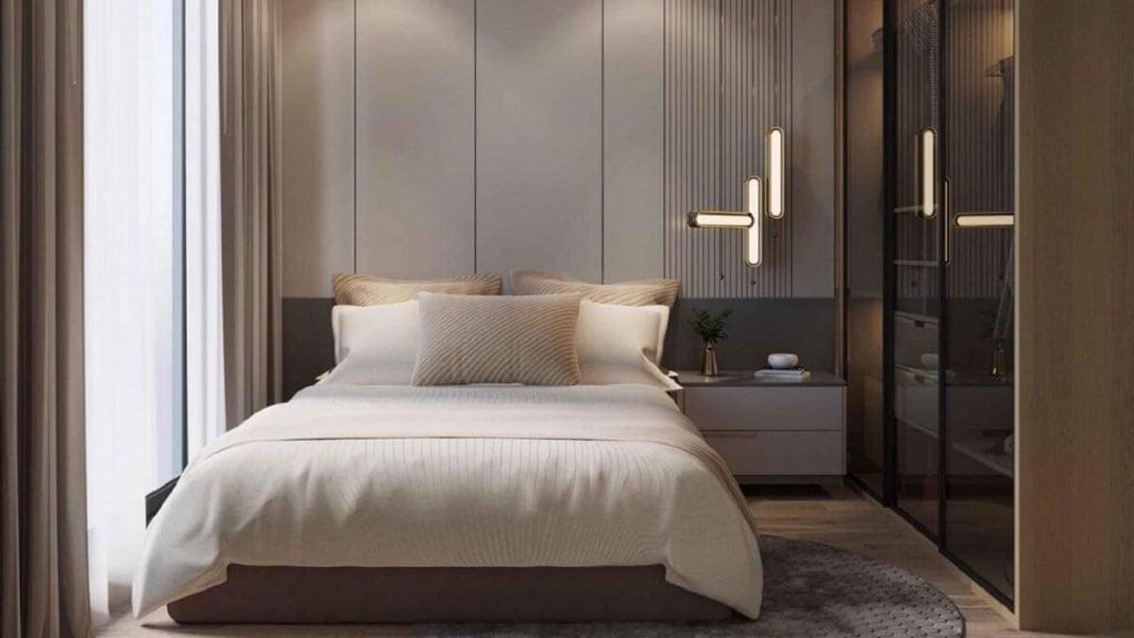 Phối cảnh phòng ngủ HT Pearl