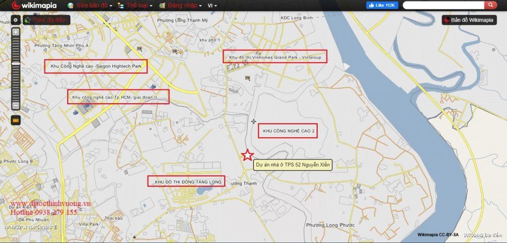 Nhà phố 52 Nguyễn Xiển có vị trí đắc địa, kết nối nhanh các khu đô thị tại TP Thủ Đức