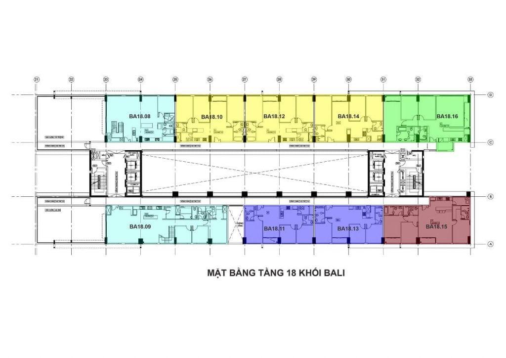 Tầng 18 - Tháp Bali