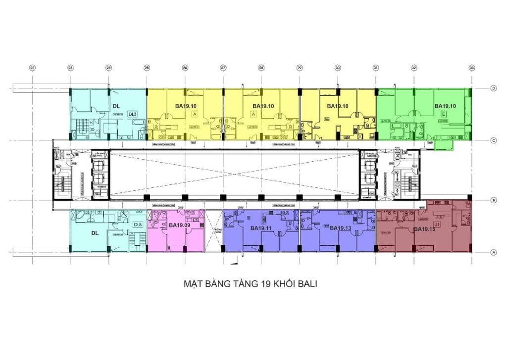 Tầng 19 - Tháp Bali