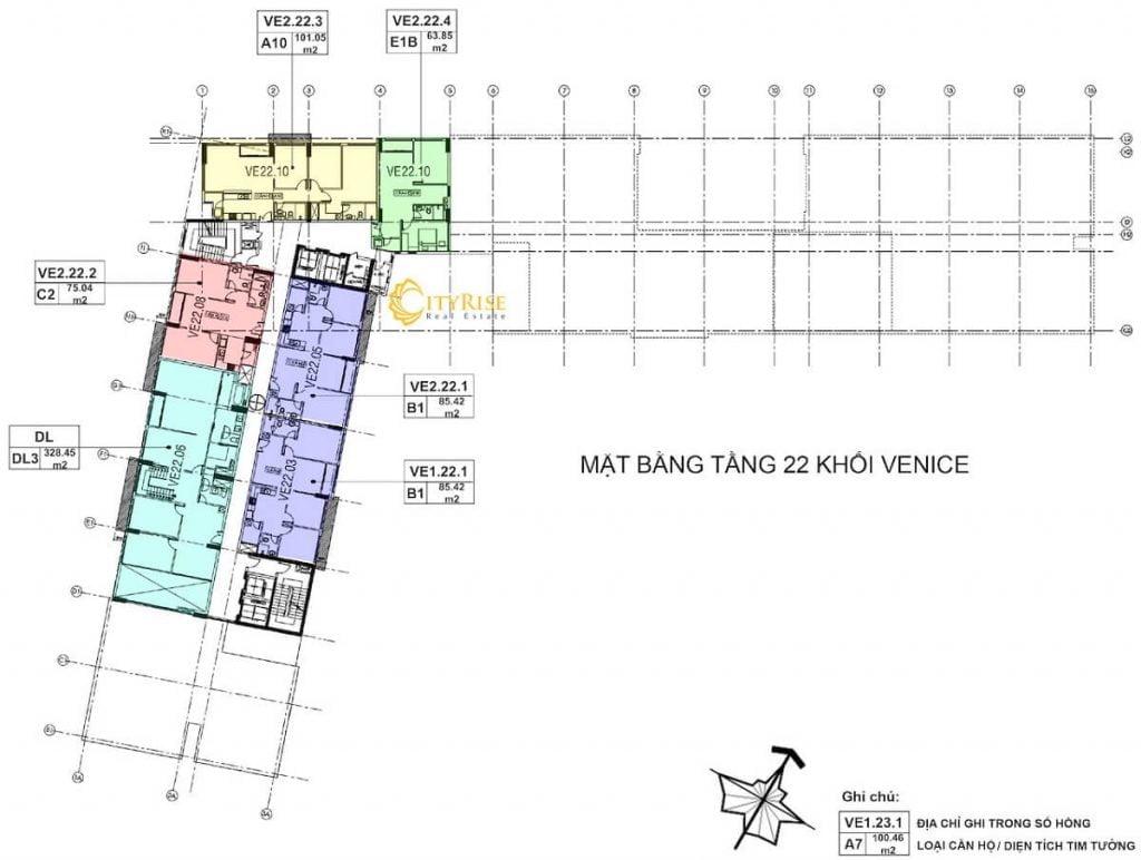 Tầng 22 - Tháp Venice