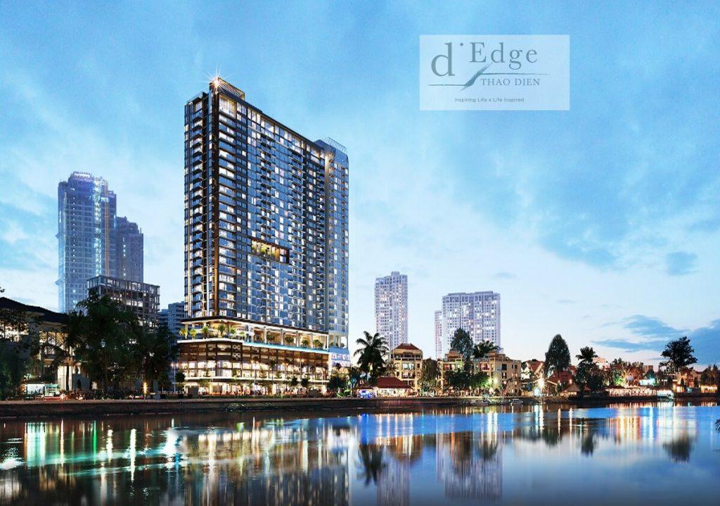Phối cảnh dự án D'Edge Thảo Điền