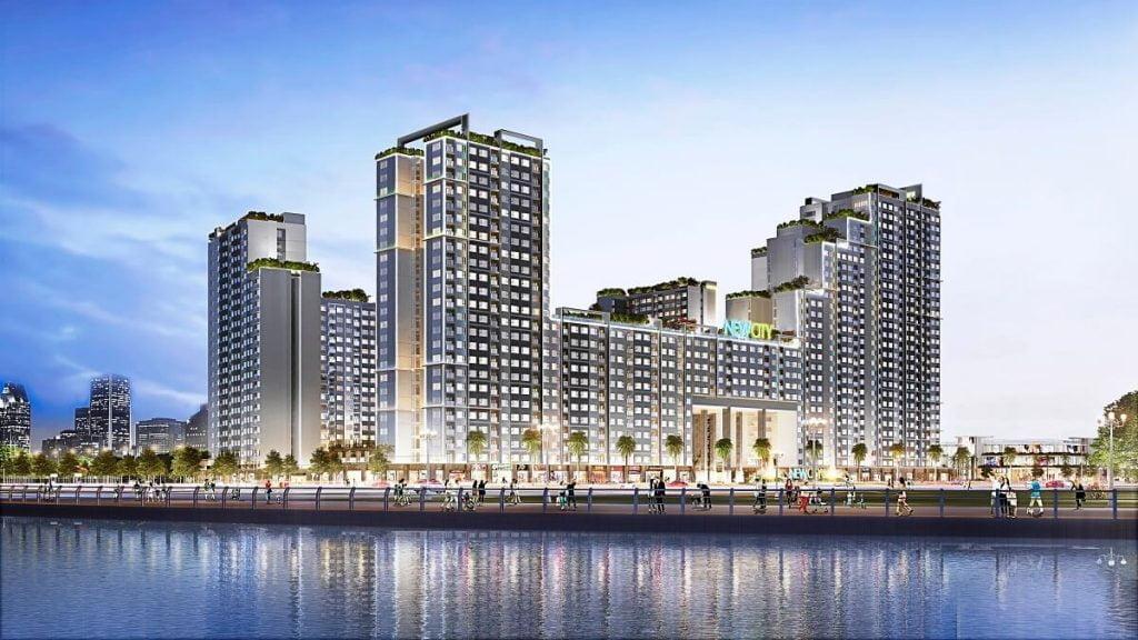 Phối cảnh tổng thể dự án New City Thủ Thiêm